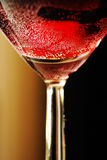 Sparkling red wine Royalty Free Stock Image