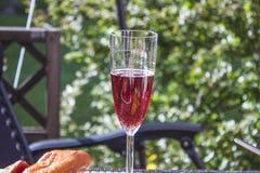 Sparkling rose wine Royalty Free Stock Image