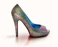 Sparkling shoe Stock Photos