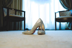 Sparkling Shoes Royalty Free Stock Images