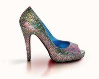 Sparkling sko Arkivfoton