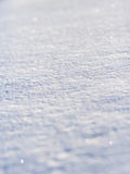 Sparkling Snow Stock Photography