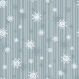 Sparkling Snowflake Seamless Tile Stock Photography