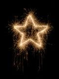 Sparkling star Royalty Free Stock Photos
