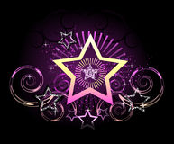 Sparkling star Royalty Free Stock Images