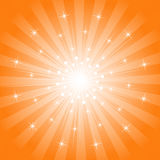 Sparkling Star-Burst Background Royalty Free Stock Photo