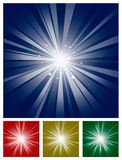 Sparkling Star Light Burst Stock Photos