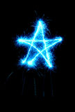 Sparkling Star Stock Photography
