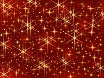 Sparkling stars Stock Image