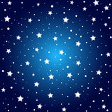 Sparkling stars Stock Images