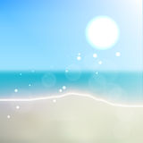 Sparkling Summer Sea Royalty Free Stock Photos