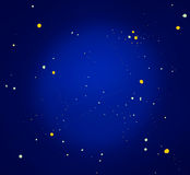Sparkling universe background Stock Images