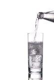 sparkling vatten royaltyfri foto