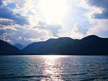 sparkling vatten Arkivfoto