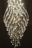 chandelier light Sparkling water droplets Stock Photos