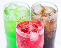 Sparkling water Royalty Free Stock Images