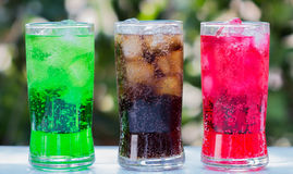 Sparkling water Royalty Free Stock Photos