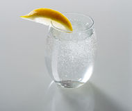 Sparkling Water in Glass Royalty Free Stock Photos