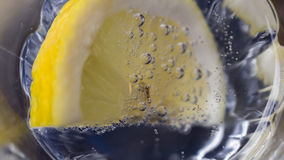 In sparkling water Stock Photography