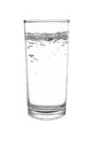 Sparkling water or soda water in highball or long drink glass is. It is sparkling water or soda water in highball or long drink glass isolated on white stock photos