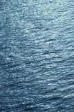 Sparkling water surface. Water surface sparkles on surface. Marine ecology concept Royalty Free Stock Photos