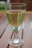 Sparkling white wine Stock Image
