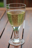 Sparkling white wine Stock Photography