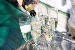 Sparkling wine Stock Photos