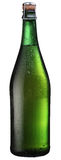 Sparkling wine bottle. Royalty Free Stock Image
