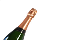 Sparkling wine bottle Royalty Free Stock Photo