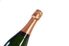 Sparkling wine bottle Royalty Free Stock Photo