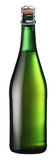 Sparkling wine bottle. Stock Photos