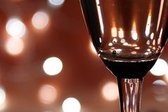 Sparkling wine and celebration Royalty Free Stock Image