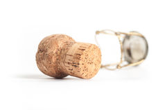 Sparkling wine cork Royalty Free Stock Photo