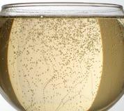 sparkling wine för champagne Arkivfoto
