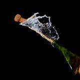 sparkling wine för flaska Arkivfoton