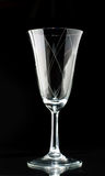 Sparkling wine glass Stock Images