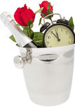 Sparkling wine pail Stock Photography