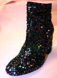 Sparkly ботинки Стоковые Фотографии RF
