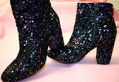 Sparkly ботинки Стоковое Изображение RF