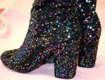 Sparkly ботинки Стоковое фото RF