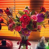 Sparkly розы Стоковая Фотография RF