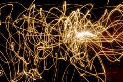 Sparkly светлая картина стоковое фото