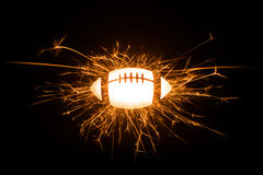 Sparkly American football Royalty Free Stock Photos