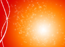 Sparkly background. Sparkly Christmas background with stars Royalty Free Stock Photography