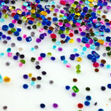 Sparkly beads and glitter Royalty Free Stock Image