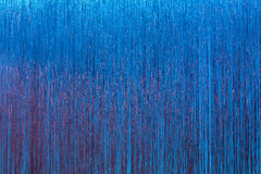 Sparkly blue stage curtain Royalty Free Stock Images