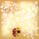 Sparkly christmas background Royalty Free Stock Photography