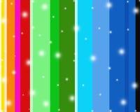 Sparkly farbige Hintergrundstreifen Stockfotos