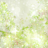Sparkly Garden Art Textured Background Stock Images